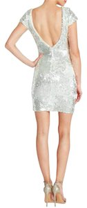 Dress the Population Sequin Low Back Dress