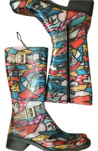 Donald J. Pliner Multi color Boots