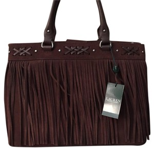 Ralph Lauren Satchel in dark brown