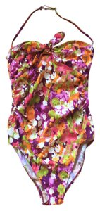 Newport News Floral one-piece swimsuit