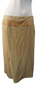 Dries van Noten Designer Maxi Skirt Beige