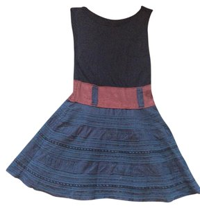 Free People short dress Color block on Tradesy