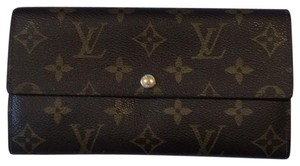 Louis Vuitton accordion wallet