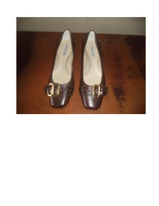 Jones New York Brown leather Pumps