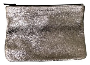 Marc Jacobs Metallic Leather Rose Gold Clutch