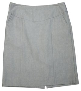 Banana Republic Stretch 2 Side Pockets Skirt Gray