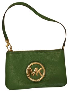 Michael Kors Wristlet in Palm Green