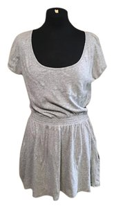PINK short dress Gray on Tradesy