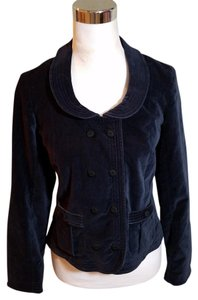 Marc by Marc Jacobs Velour Navy Blazer