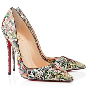 Christian Louboutin So Kate Multi Pumps