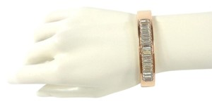 Michael Kors Michael Kors MKJ6232791 Baguette Crystals Rose Gold Bangle Bracelet