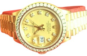 Rolex Rolex perpetual president 18k solid ladies watch