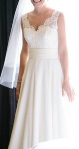 Modern Trousseau Lauren Top W/ Mila Skirt (**custom Made M.t. Gown) Wedding Dress