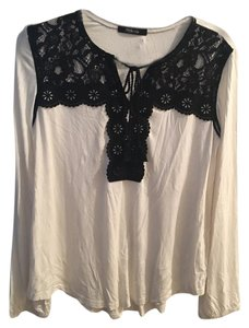 Style & Co Top white and black