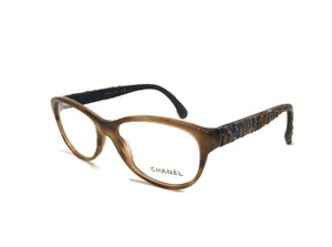 Chanel Caramel Tweed Glasses