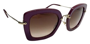 Miu Miu NEW MIU MIU SQUARE PURPLE SUNGLASSES SMU 07O UFY-6S1 FREE SHIPPING