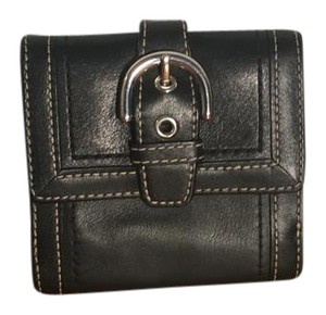 Coach buckle small wallet
