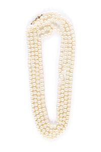 Chanel Vintage Extra Long Opera Pearl Necklace