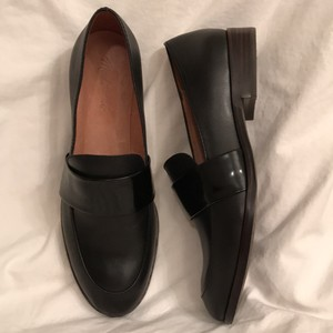 Madewell Loafer Leather Slip-ons Black Flats