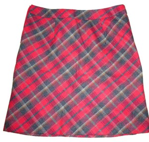 American Eagle Outfitters Mini Skirt Red