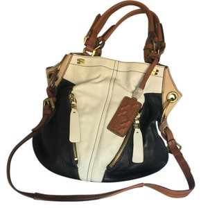 orYANY Leather Brass Details Hobo Bag