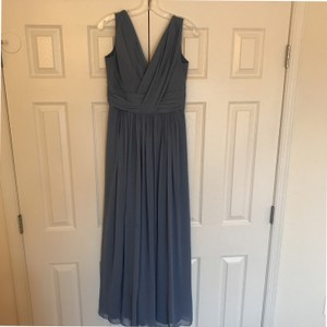 Dessy Larkspur Blue Dessy Bridesmaid Dress Dress