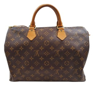 Louis Vuitton Lv Speedy 35 Monogram Tote