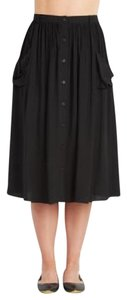 Other Down Pockets A-line Skirt Black
