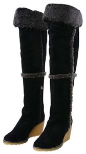 Tory Burch Tall Boot Black Boots