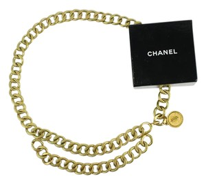 Chanel Jumbo Link Gold Chain Belt 2Way 10CCA11617