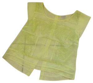 American Eagle Outfitters Top Bright yellow