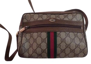 Gucci Accessory Col Perfect For Everyday Excellent Vintage Cross Body Bag
