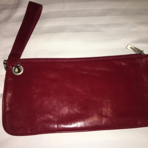 Hobo International Wristlet in red