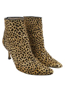 Manolo Blahnik Tan Brown Boots