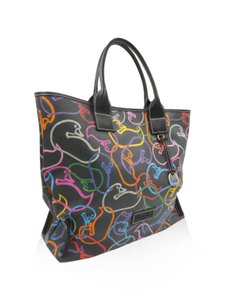 Dooney & Bourke Tote in Black , Multi Color