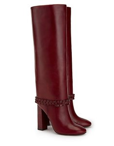 Tory Burch Red Wine Boots