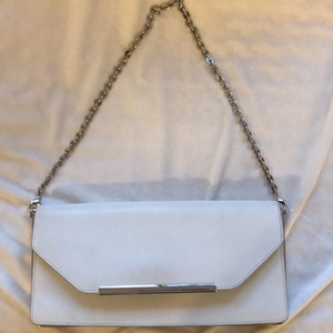 Salvatore Ferragamo white Clutch