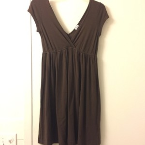 Splendid short dress brown on Tradesy