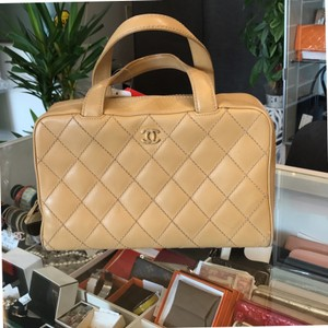 Chanel Tote in light brown