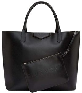 5863b90364 Added to Shopping Bag. Givenchy Tote in Black. Givenchy New Calfskin  Antigona Large Shopping Black Leather Tote