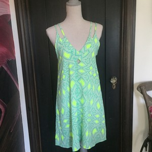 Lush short dress green on Tradesy