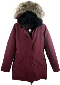 Canada Goose Water Resistante Fur 625-fill-power Down Parka Made In Canada Fur Coat