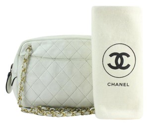 Chanel Cc Logo Crossbody Satchel Shoulder Bag