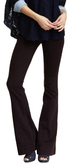 Item - Noir Red Low Rise Love Story Bell Bottom Flare Leg Jeans Size 25 (2, XS)