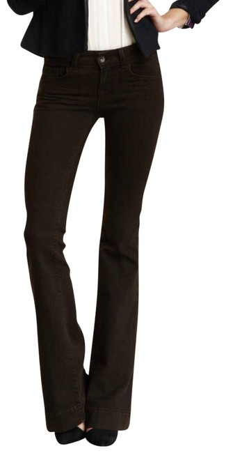 Item - Noir Brown Low Rise Love Story Bell Bottom Flare Leg Jeans Size 25 (2, XS)