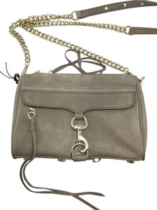 Rebecca Minkoff Mini Mac Suede Chain Cross Body Bag