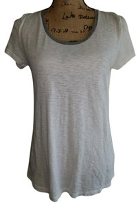 STATESIDE T Shirt white and grey