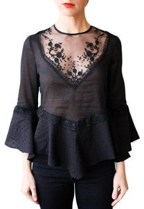 alice McCALL Lace Top Black