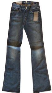 7 For All Mankind Medium Wash Boot Cut Jeans-Medium Wash