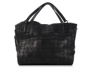 Burberry Leather Bb.k1114.04 Studded Tote Overnight Travel Bag